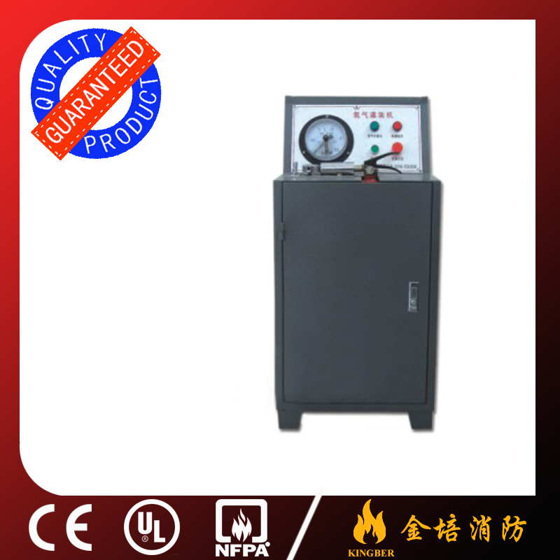 Hot Selling Fire Extinguisher Nitrogen Filler N2 Filler Nitrogen Filling Machine with Safe Protective Device