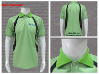 Customized polo shirts with rib collar