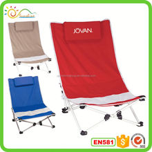 Pvc party portable power garden chair french vintage outdoor metal chair spring folding beach chair