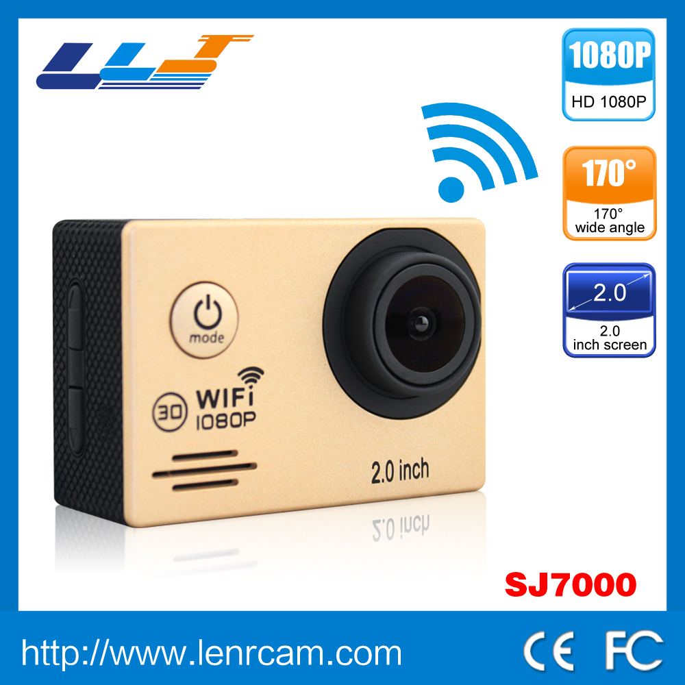 SJ7000 Waterproof wifi camera B2G Outdoor Sports DV