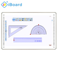 iBoard pure flat capacitive touch interactive electronic whiteboard