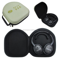 Durable EVA Shockproof Carrying Case for headphone with custom embossed logo