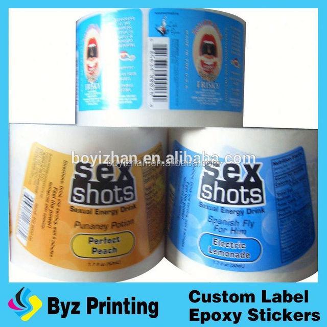 Custom printing non remove destructible fragile paper sticker quality security label