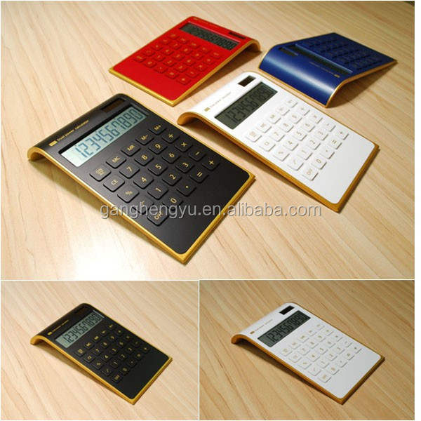 Promotional Electronic 10 Digit Dekstop Dual Power Calculator