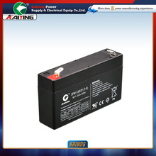 6V 1.3AH kaiying power supply electrical equip co. ltd storage battery