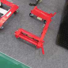 NO hydraulic car jack for workshop /Car Wheel Dolly 1800LBS Aluminum Hydraulic Go Jack for sale