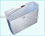 Roll bond evaporator for refrigerator