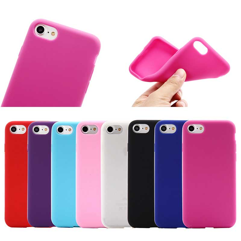 Amazing Quality Smooth Silicone Case for iPhone 7/8,for iphone 7/8 Soft Protective Cover