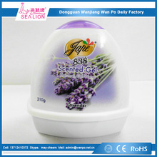 With fragrance lavender scent solid gel air freshener