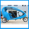 Eco Friendly Three Wheels Motorcycle Rickshaw Bike Cab with GPS