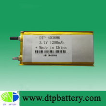 4.2v rechargeable battery 3.7v li-ion batteries 1200mAh recycling