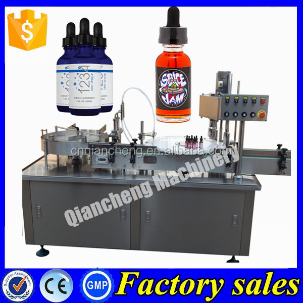 CE Certification automatic liquid filling machine,e-liquid filling machine