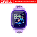 IP67 Waterproof 1.22 Inch Touch Screen Dual Positioning Kids GPS Watch