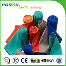 Machine washable and dryable suede microfiber towel