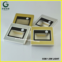 Solar Led Recessed With Camera Switch Wall Motion Sensor Light