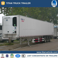 Refrigerated box/van truck, used refrigerated trucks