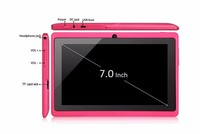 China original Q88 tablet pc 7 inch android 4.4 Allwinner A33 quad core mid and wifi Q88 low price tablets