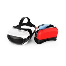 "wifi bluetooth youtube google play 3D 720p VR glasses all in one headset video glasses VR box case 5"" screen multimedia player"