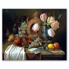 High quality wall art gallery handmade canvas fruit still life oil painting picture