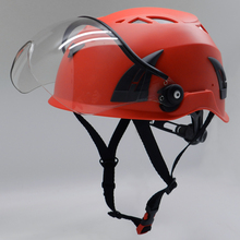 Newest Lightweight Industrial Construction Safety Helmet With Goggle Visor