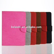 New In Market Beautiful Pouch PU Leather Case For iPad Mini Card Slot Folio Tablet Cases