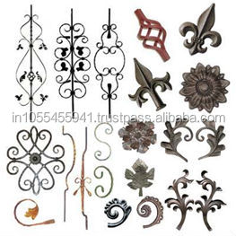 wrought iron Balustrades & Handrails