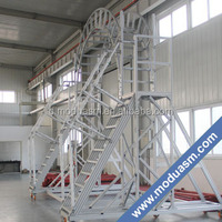 aluminum extruded profiles for ladders and steps
