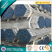 used for construction galvanized steel pipe