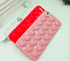 New arrival hot selling popular in Korea love heart phone cover for iPhone 7 tpu case