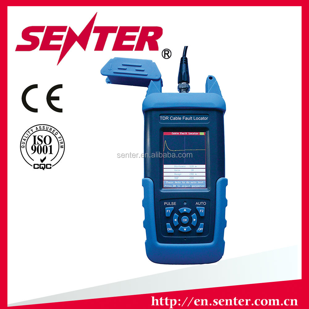 ST612 Color Screen TDR Cable Fault Locator/power cable fault locator/Auto Testing Machine Usage cable detector