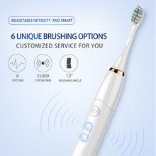 Diamond Clean Rechargeable Electric Toothbrush w/Deep Clean Mode with Adaptive Clean Brush Head