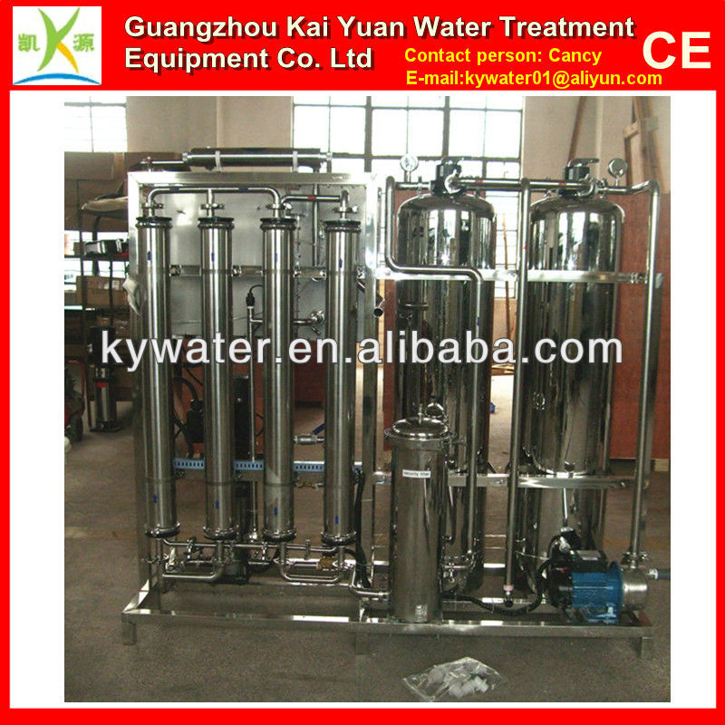 1000LPH CE approved ro industrial portable water distillation plant