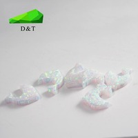 Low Price White Elephant Synthetic Opal
