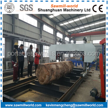 Large Horizontal Hard Wood Cutting Band Saw Machine