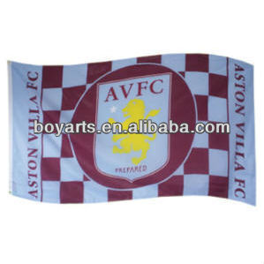 Hot advertising football flag
