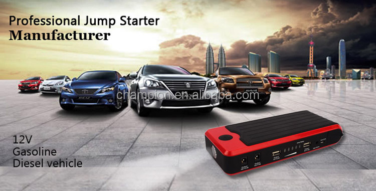 Multi funcation car Jump Starter 16500mAh power bank car jump start
