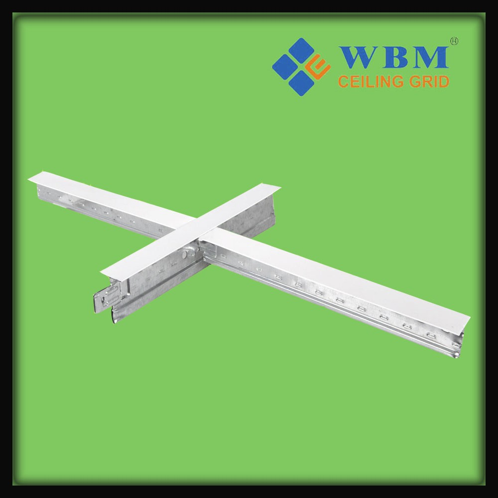High quality galvanized & Carrying Channel Tee Runner T Bar Suspended Ceiling Grid