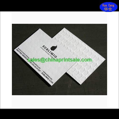 Wholesale Products Print Letterpress Business Cards