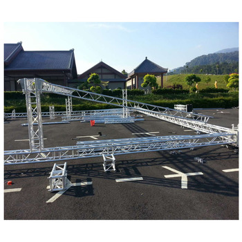 Outdoor Aluminum Stage Frame 290mm Truss Structure