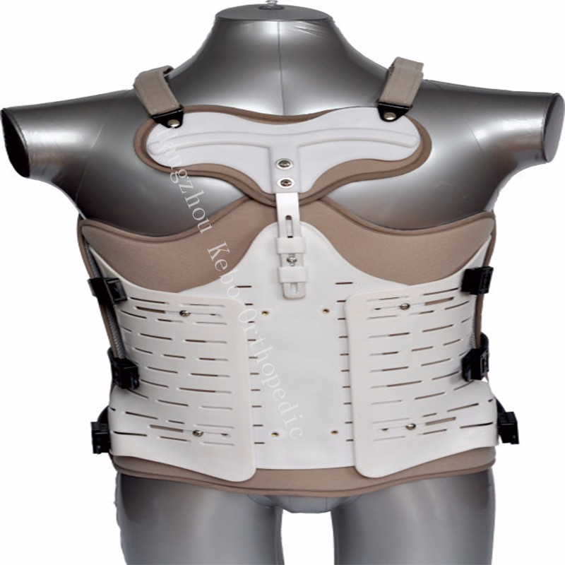 Hot sale orthopedic back brace lumbar back support breathe freely spine orthosis with CE ISO