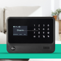 2.4G wifi home alarm system with wifi gateway and GSM module support,professional for home security