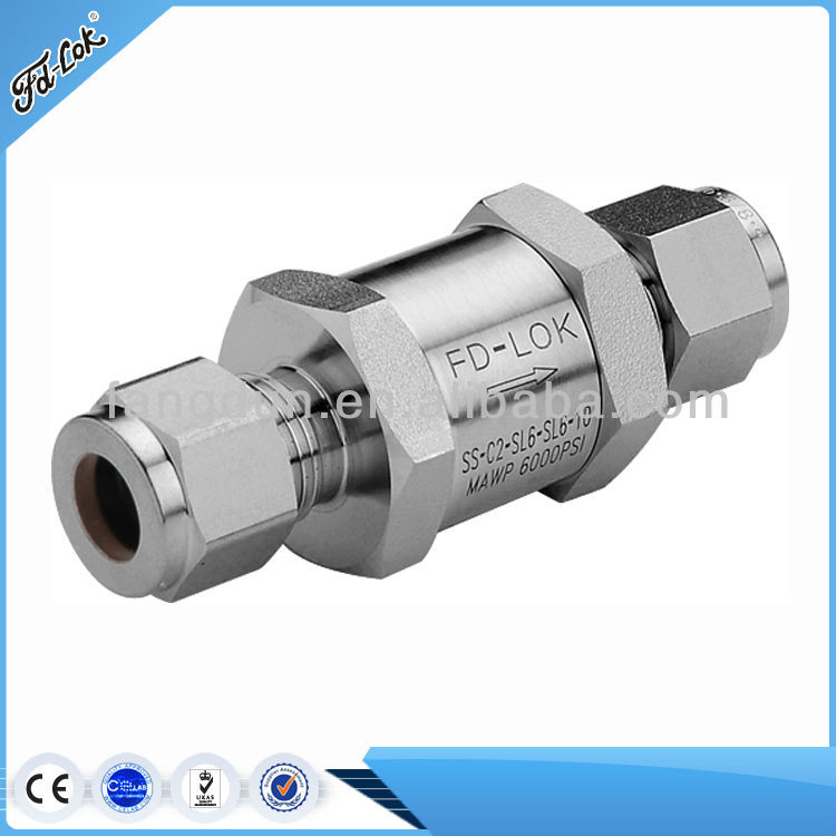 Top Quality Instrumentation Check Valve, Small check valve, oil&subsea application