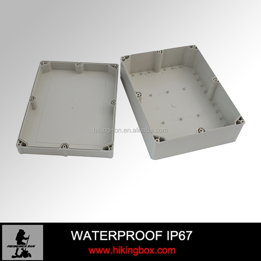 Hard ABS Plastic waterproof enclosure /junction box with gland cable HPE094