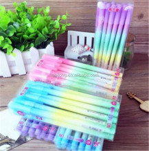 Jelly rainbow colored pencil 0.38 mm all neutral pen needles Han edition cute neutral pen PN6307