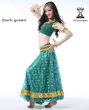 Wuchieal Indian Belly Dance Costumes, Indian Dance Wear, Indian Clothing for Dance
