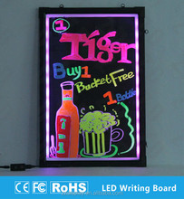 night clubs notification use illuminated led sign board diy with fluorescent marker pen