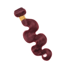 New Arrival 99J Body Wave Brazilian Human Hair Weave Black Rose Wet and Wavy Brazilian Hair Extensions