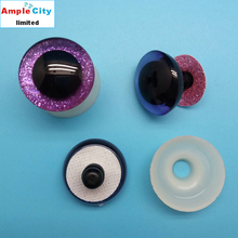 Wholesale Pretty and Colorful Doll Glitter Eyes, Plastic Animal Fake Eyes of Stuffed Toys