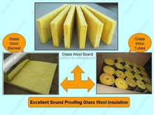 Non flammable insulated rigid mineral slag rock fiberglass wool insulation