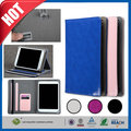C&T Hot Fashion stand PU cover with card slot folio leather tablet case for ipad case